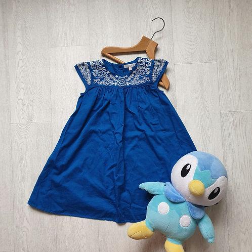 💮M&S blue summer dress. Size 6-7yrs