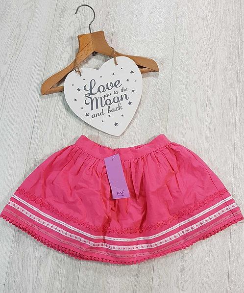 💗F&F pink skirt. 2-3yrs NWT