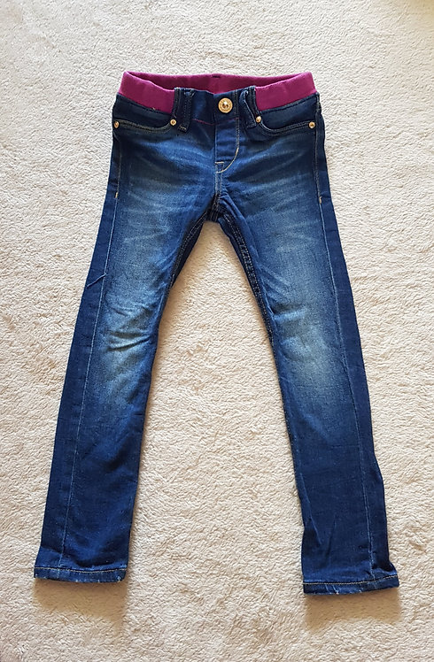 H&M Denim super skinny jeans with elasticated waist.