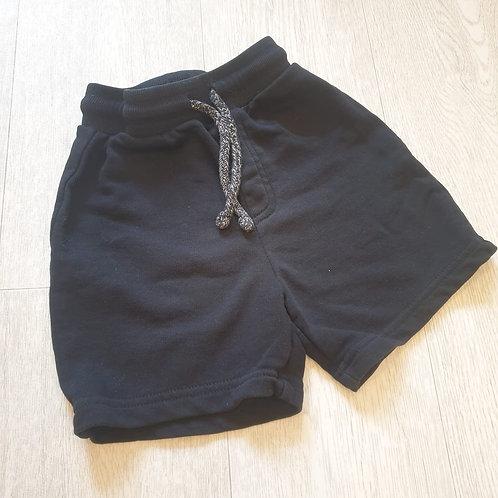 🧩George black soft shorts. 2-3yrs