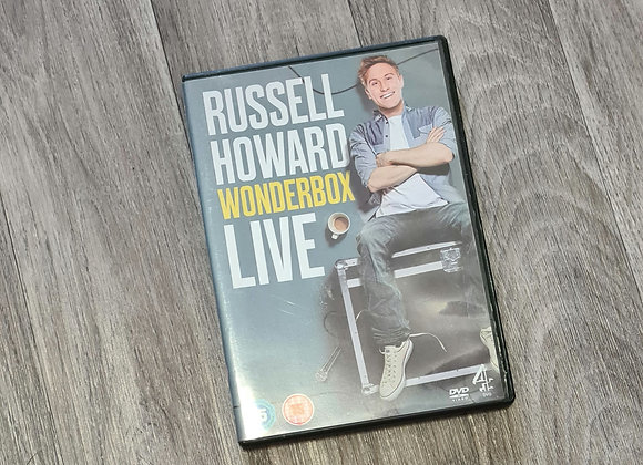 DVD - Russell Howard Wonderbox Live. Rating 15