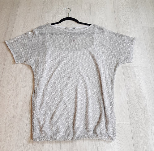 🔴George silver lightweight top with vest attachment UK size 14