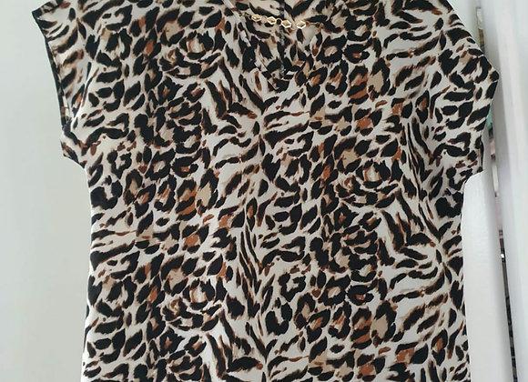 Bonmarche leopard print top. Size 12