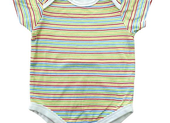 Bruin striped vest. 6-9m