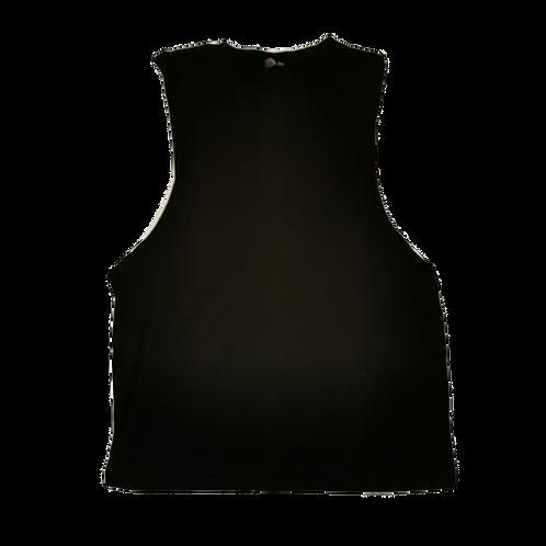 Asos black wide pit vest top. Size XL