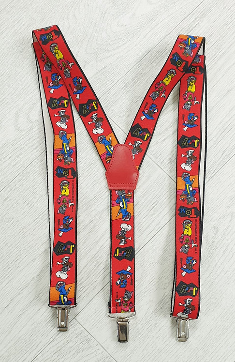 Tom & Jerry trouser braces