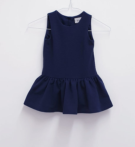 🦚Next navy dress 1½-2yrs