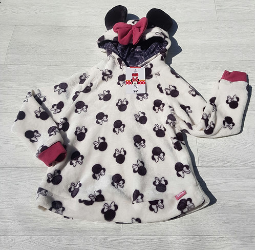 ❤Minnie Mouse fleece jumper. 7-8yrs NWT
