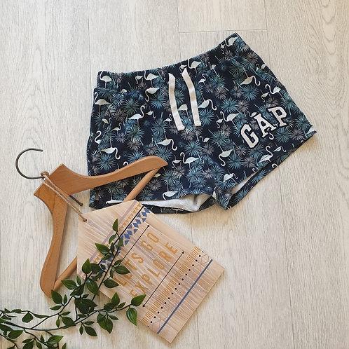 💚Gap flamingo navy shorts. Size M