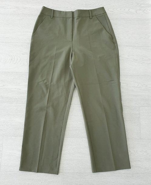Asos khaki tapered trousers. Uk 10