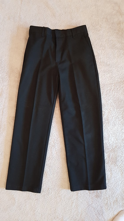 Black George school trousers. 8yrs-9yrs.