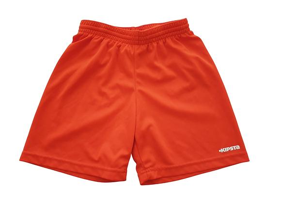 Decathlon red sports shorts. 8yrs