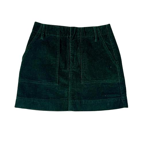 BDG green chord skirt. Size S