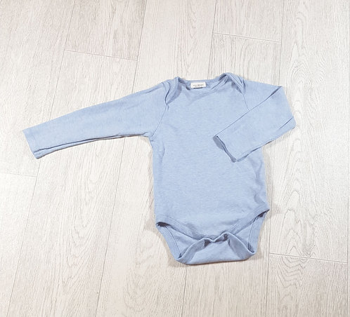 🐠Next baby blue long-sleeve vest size 18/24 months