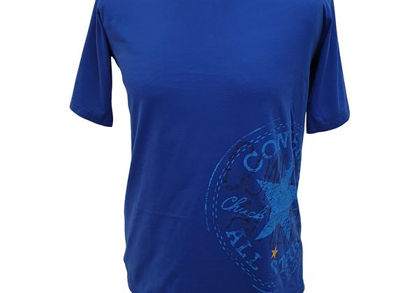 Converse blue t-shirt. 13-15yrs