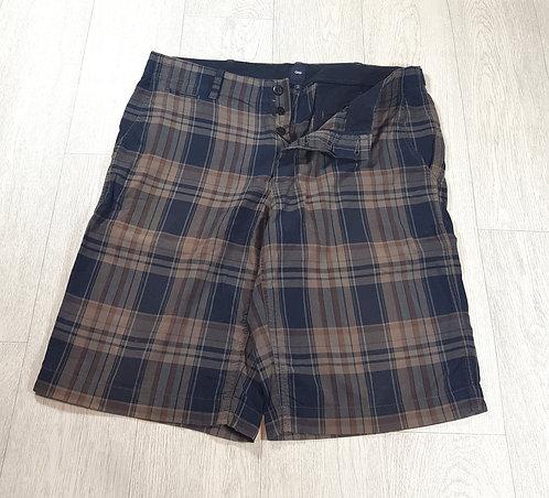 🚩Gap men's brown tartan shorts size 34