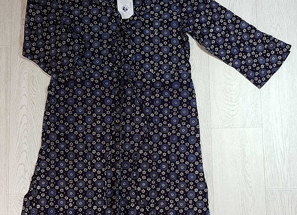 ◾April Cornell navy dress. Size S NWT