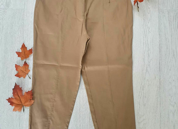 ○Next beige trousers. Size 14