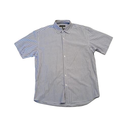Austin Reed blue stripe shirt. Size L
