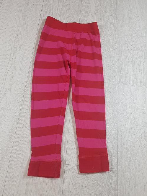 🌈Mothercare girls red / pink pyjama bottoms size 4-5yrs