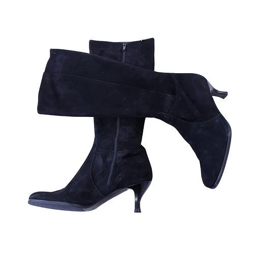 Artigiano black suede boots. Eu 42 NWOT