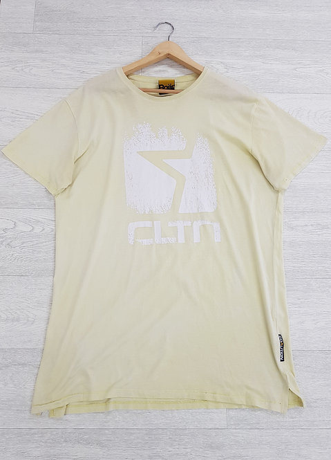 ♟Coalition lemon yellow T-shirt size XL