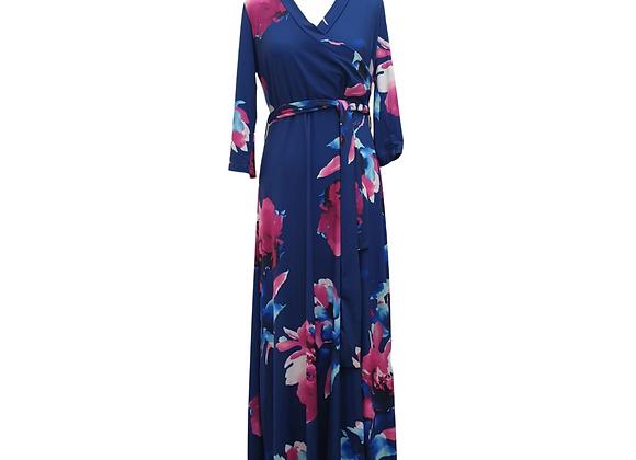 Body Flirt blue floral dress. Eu 40/42