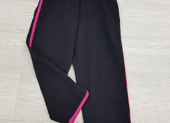 🦄4HOW black and pink cropped leggings size S