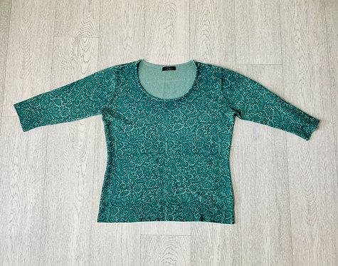 🍃BM green mix jumper. Size S