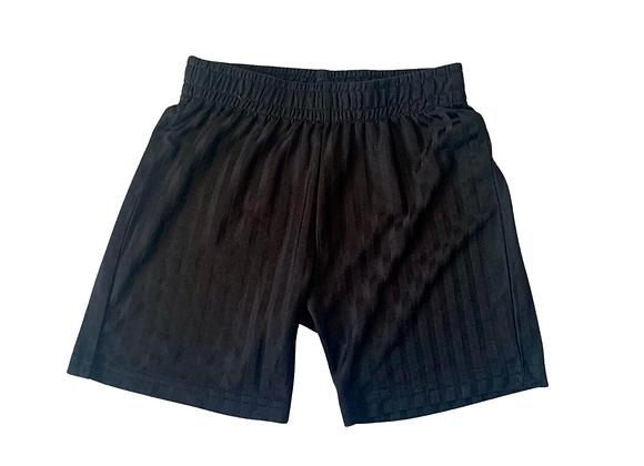 F&F black P.E shorts. 5-6yrs