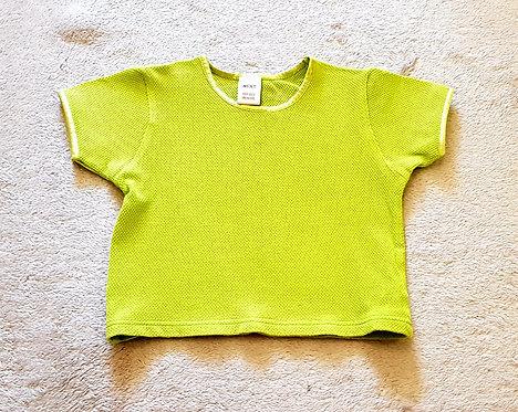 NEXT Lime green tshirt 18-24m