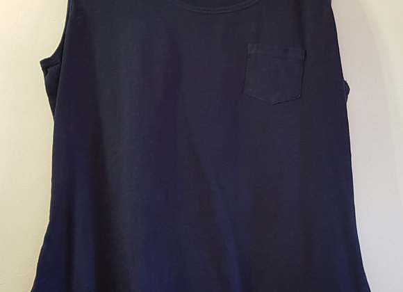 COLLECTION DEBENHAMS Navy vest top size 16