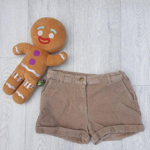 ⭐Matalan beige chord shorts with adjustable waist. 6-7yrs