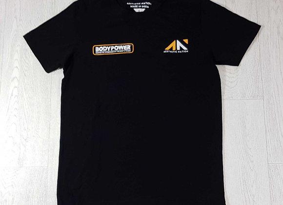 ◾Body Power black t-shirt. Size L