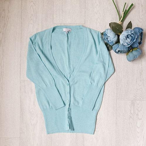 🧡Next turquoise cardigan. Size 8
