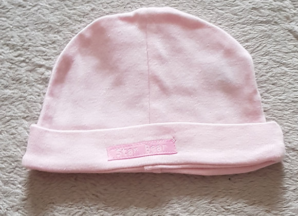 DUNNES Pink hat 0-3m