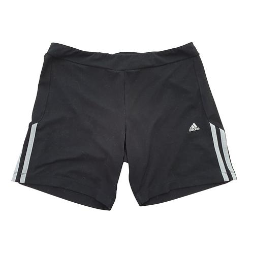 Adidas black sports shorts. Uk 16-18