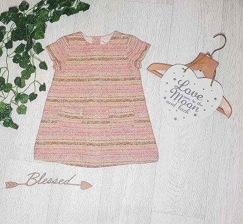 ◾Zara thick cotton dress. 2-3yrs