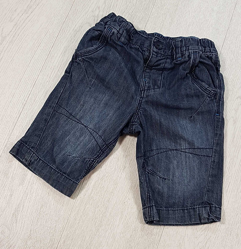 Next denim shorts with elasticated waist. 5yrs