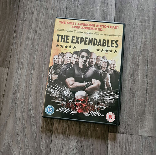 DVD - The expendables rating 15