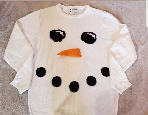 Snowman Jumper. XL.