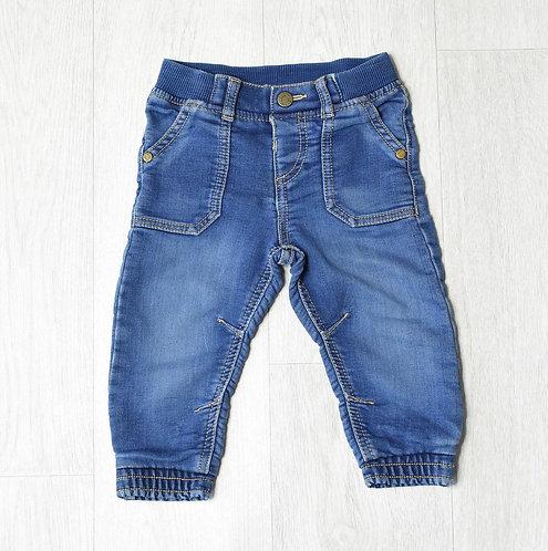 F&F blue denim jeans 9-12m