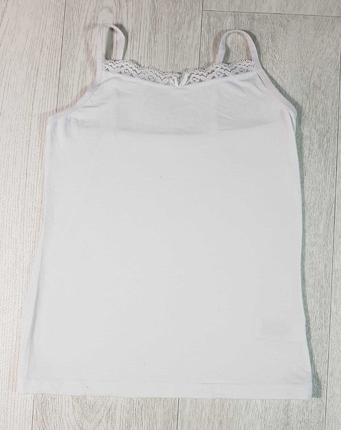 ◾Next white vest. 7-8yrs