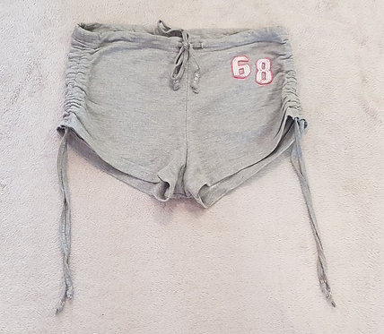 DENIM CO Grey shorts with adjustable sides. Size 8