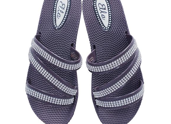 Ella Wedge and diamante sandals. Eu 36/Uk 3