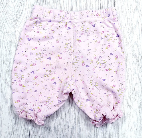 🎀 George pink floral trousers. First size