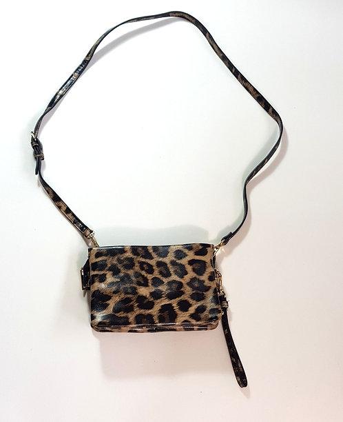 Accessorize leopard print shoulder bag