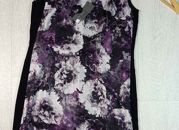 ◽Et Vous black and purple dress. Size 12. New with tags