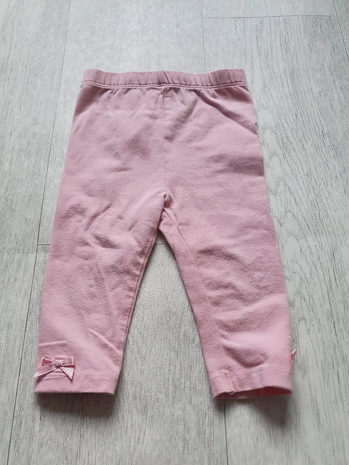 George pink leggings 6-9m