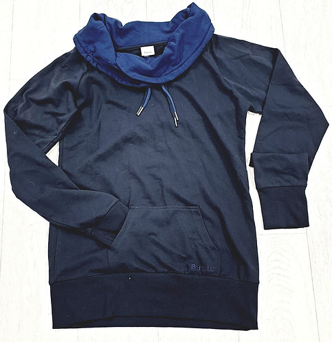 Bench navy roll neck sweatshirt. Size L
